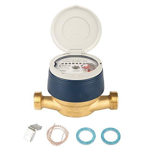 Wasserzähler frostgeschützt neu und geeicht mit UV Schutzhaube Eichung 2020