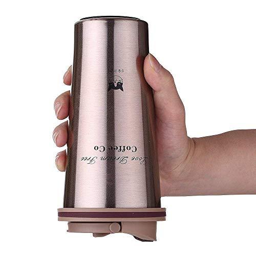 Anodass Edelstahl Kaffeebecher 500ml   Doppelwandig vakuumisolierter Travel Mug   Thermobecher aus Edelstahl   Isolierbecher BPA Frei, Leicht & Auslaufsicher (Braun, Typ 2)