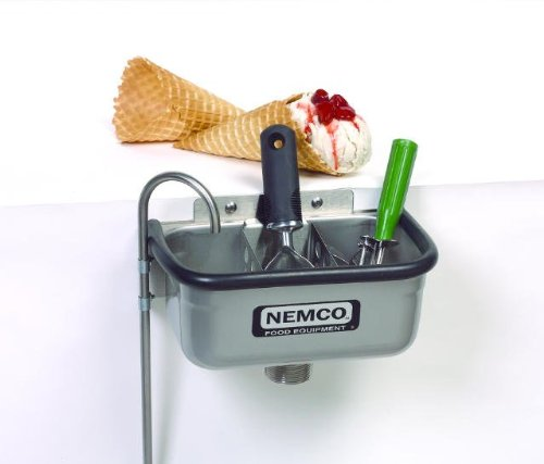 Lowest Prices! Nemco Ice Cream Dipper Station Spadewell (Excluding Divider) - 10