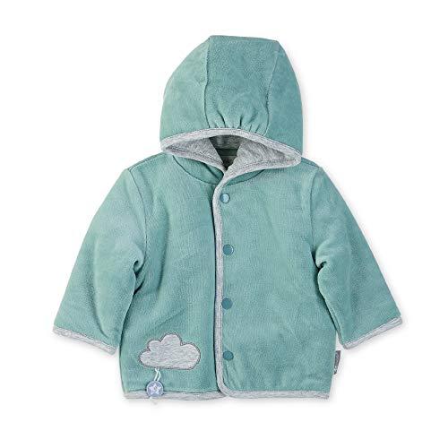 Sterntaler Unisex Baby capuchon Nicki Stanley jas, groen, 62 cm