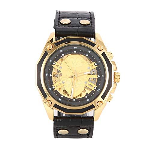 Correa de PU Reloj de pulsera mecánico mecánico automático Durabilidad Gran decoración Los mejores regalos Bellamente empaquetado