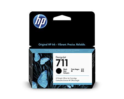 HP CZ129A 711 Cartucho de Tinta Original, 1 unidad, negro