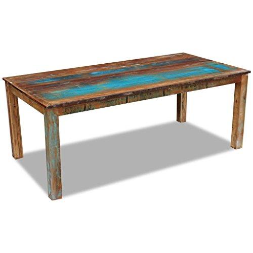 Weilandeal eettafel massief gerecycled hout 200x100x76 cm Afmetingen: 200 x 100 x 76 cm (L x B x H) ronde tafel ronde tafel
