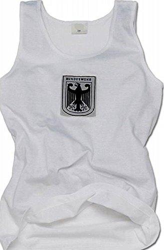 Deutsche Armee Bundeswehr Weste, Unisex-Größe, Military Chic, Herren, weiß, xxl