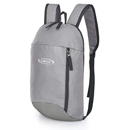 G4Free Rucksack Outdoor Mehrzweck-Tagesrucksack 10 L Kleiner 0,16kg Wanderrucksack Mini-Buchrucksack Für Erwachsene Und Kinder