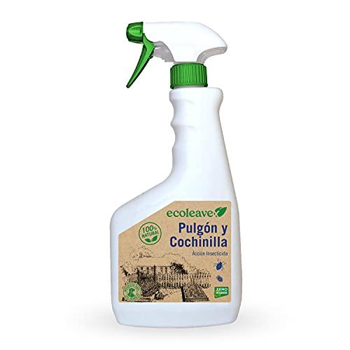 ECOLEAVEX Pulgón y Cochinilla. Acción Insecticida, ECOLOGICO, 100% Natural y Residuo Zero. con Abonos, Micronutrientes y Bioestimulantes. (Spray 750 ml)