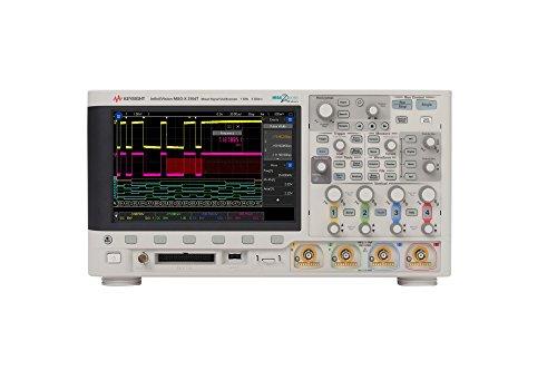 KEYSIGHT MSOX3104T Osciloscopio de señales mixtas (MSO) de 1 GHz con 4 canales...