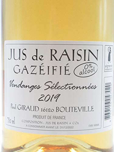 Paul Giraud(ポール・ジロー)「Jus de Raisin Gazeifie (スパークリング・グレープジュース)」