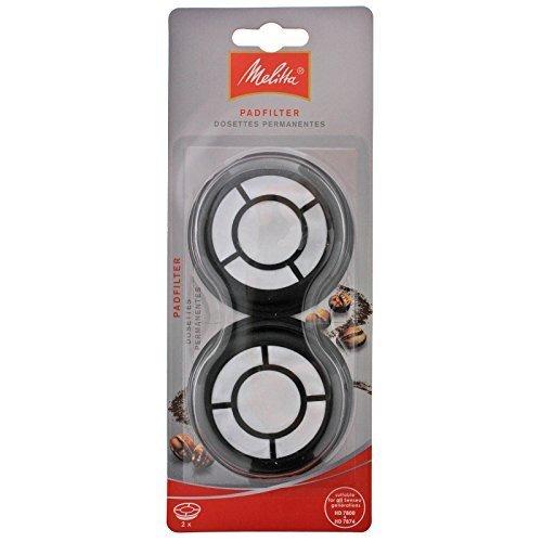Genuine Original Melitta Padfilter Coffee Machine filters for Philips Senseo HD7800 Series (Pack of 2)