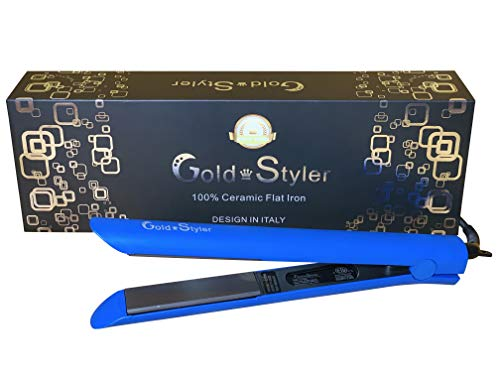 For Sale! GoldStyler Professional Flat Iron with 1.25 Inch Ceramic Ion plates Hair Straightener Adju...