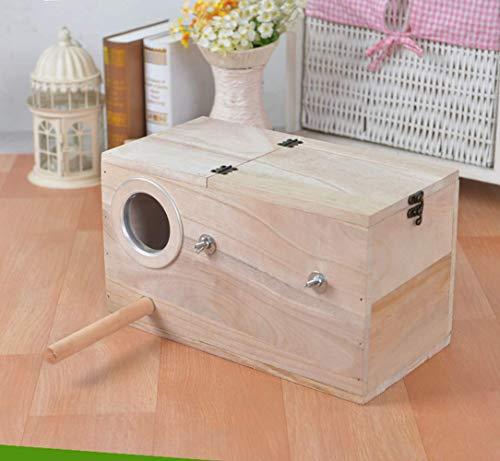 Ogquaton Massivholz Papagei Zucht Box Nistkasten Holz Vogelnistkasten Durable Neu Freigegeben