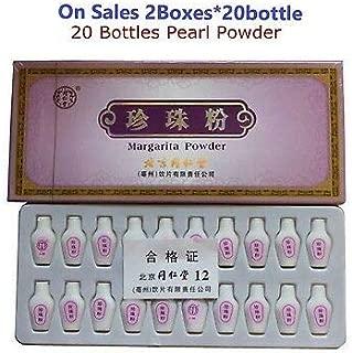 Acongtang Acongtang TongRenTang Pearl Powder-2Box-Edible Margarita (20 Small Bottles per Box)