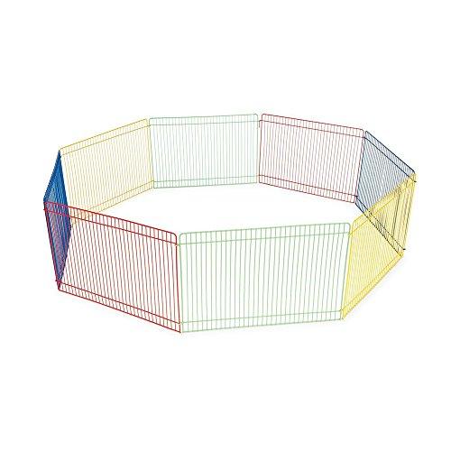 Ardisle 8 Panel Pet Fold Tragbare Meerschweinchen Kaninchen / Hamster Garten spielen Pen Zaun Käfig