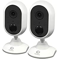 2-Pack Swann 1080p Indoor Wi-Fi Surveillance Camera Connects to Your Wireless Network