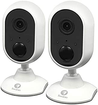 2-Pack Swann 1080p Indoor Wi-Fi Surveillance Camera