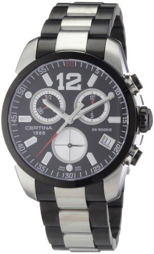 Certina Herren-Armbanduhr XL Chronograph Quarz Edelstahl C016.417.22.057.00