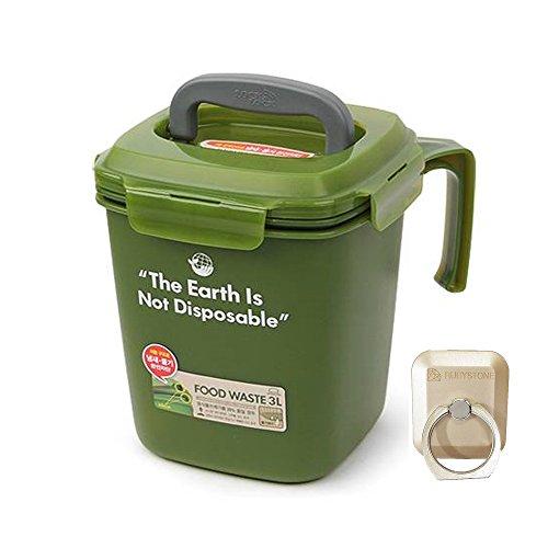 Lock&Lock Food Waste Bin 3L Contenedor de residuos alimenticios (Green)