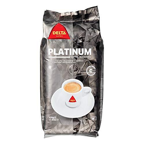 DeltaCoffee Bean Lot Platinum Packaging 500 g