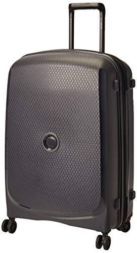 DELSEY PARIS Belmont Plus Suitcase, 70 cm, 80.5 liters, Black (Antracita)