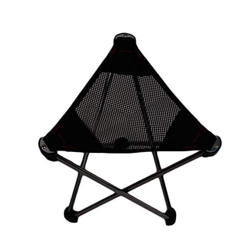 SYLOZ-URG Silla Que acampa Portable - Compacto ultraligeros sillas Plegables con Mochila, Silla de Playa portátil con Bolsa de Transporte for Actividades al Aire Libre, Camping, Playa, Barbacoa