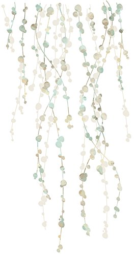 RoomMates RMK2394SCS Hanging Vine Watercolor Peel And Stick Wall DecalsMulticolor