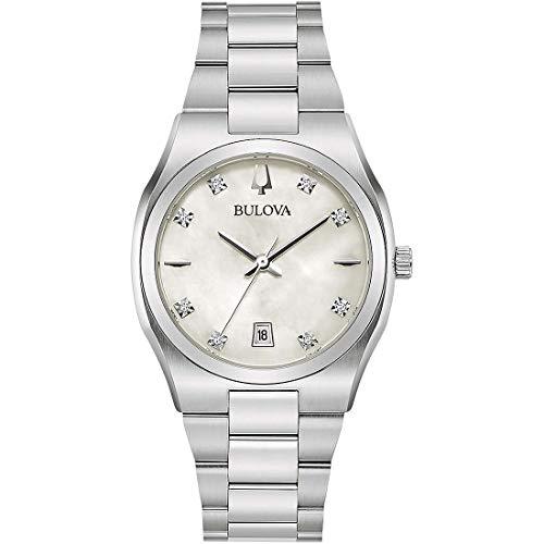 orologio solo tempo donna Bulova Surveyor classico cod. 96P218
