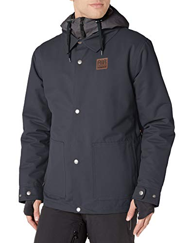 AIRBLASTER Herren Work Jacket Lightly Insulated Outerwear Snowboard-Jacken, schwarz, XLarge