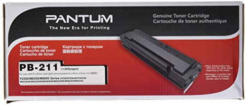Pantum PB-211Cartucho de tóner p2500W–p2502W–m6550nw–m6600nw–m6552nw–m6602nw