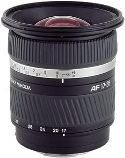 Konica-Minolta AF 17-35mm F/2.8-4 (D) wide angle lens for Sony/Minolta A-Mount SLR & DSLR