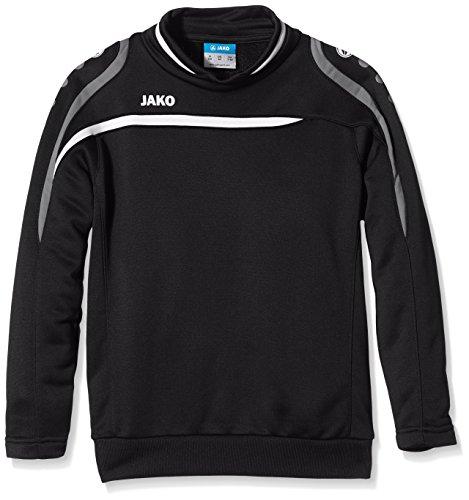 Jako Kinder Sweatshirt Sweat Performance, schwarz/Weiß/Grau, 152