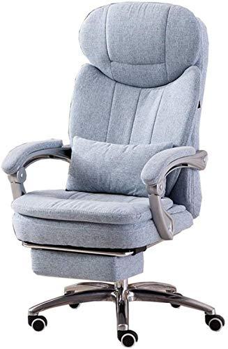 Xiuyun - Silla de oficina giratoria, silla de oficina para juegos, silla de oficina con respaldo alto y función de inclinación