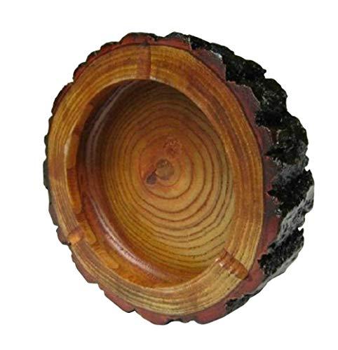 YYONYOU 灰皿 木製 手作り シンプル タバコ灰皿 装飾 清浄可能 家庭用 卓上用 飲食店 業務用 メンズ プレゼント (写真通り,M)