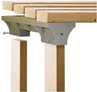 2x4basics 90118 Custom Shelving and Storage System Shelflinks, Sand (Pack of 6)
