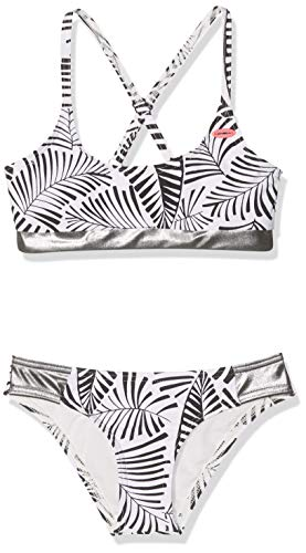 O'Neill Mädchen PG Sport Bikini Set, Schwarz All Over Print, 140