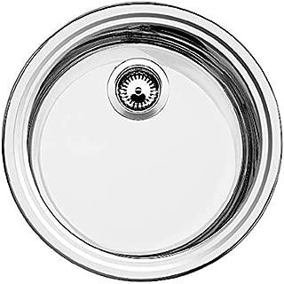 "Blanco?铂浪高-?Blanco Rondosol 不锈钢厨房水槽 Edelstahl Bürstfinish 3 1/2"" Siebkorb"