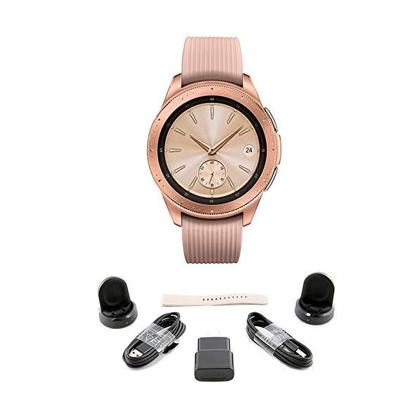 Samsung Galaxy Watch (Bluetooth), US Version Bundle with 2 Charging Docks (Renewed)