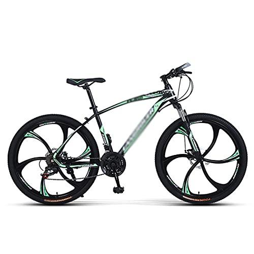 26 pulgadas 21/24/27 velocidades Bicicleta de montaña Bicicleta para estudiantes adultos al aire libre Deporte Ciclismo Bicicletas de carretera Bicicletas de ejercicio Bicicletas de montaña rígidas pa