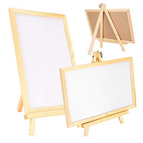 Robustes Holzmaterial, Schreibtafel, mit 2 Halterungen, Lehrmittel