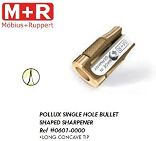 pollux brass concave sharpener