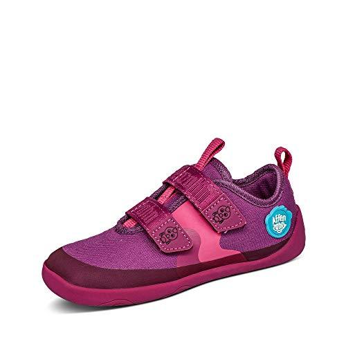 Affenzahn Zapatos de algodón para niños y niñas, talla 21-32, color Rosa,...