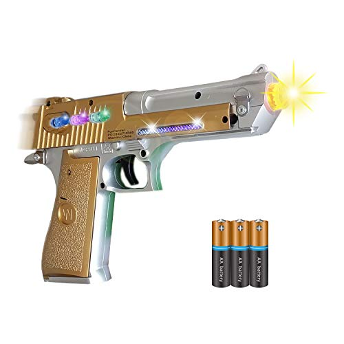 ANJ Kids Toys - Pretend Play Toy Gun for Boys | Toy Pistol Gun / Space Gun with Flashing Lights and Sound | Rapid Firing and Vibrating