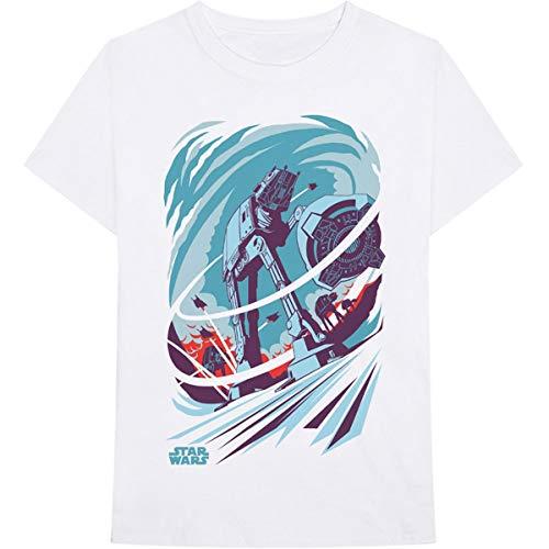 T-Shirt # Xl Unisex White # at-at Archetype