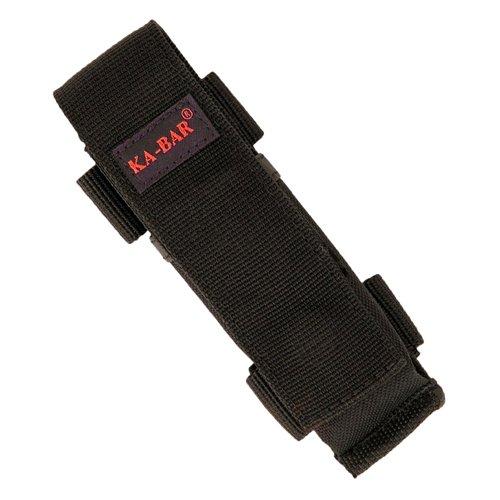 Ka-Bar - Funda de poliéster para navajas plegables Mule, color negro