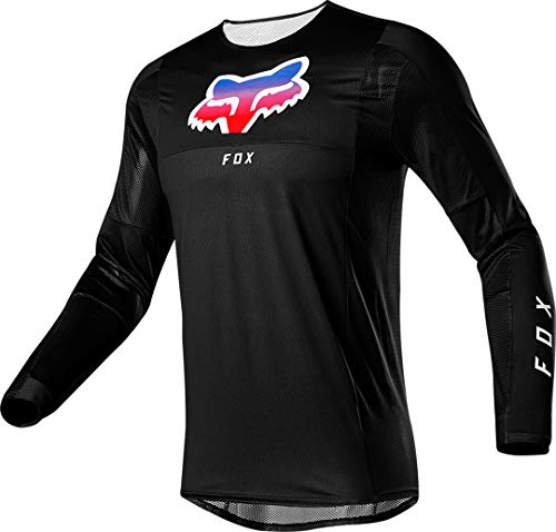 Fox Airline Pilr Motocross Jersey Schwarz M
