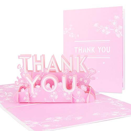Vegena 3D Grußkarten PopUp Hochzeitskarte Geburtstagskarte Weihnachtskarten mit Umschlag Romantische Faltkarte Grußkarte für Frauen Brautpaar Freundin Liebhabers Valentinstag