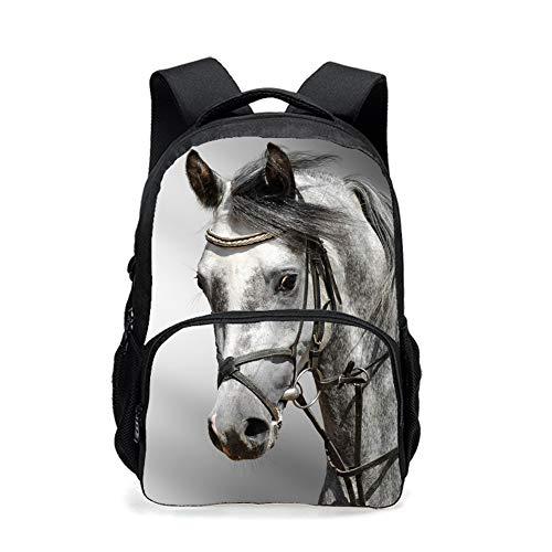 CAIWEI, Zainetto per bambini Horse 17.5Inch