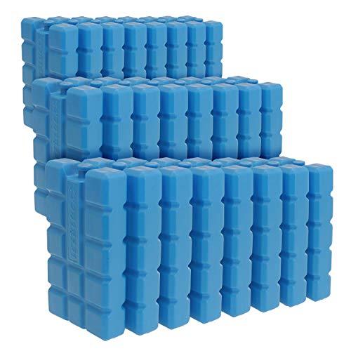Oramics Kühlakkus Groß und Flach – je Kühlelement 400 ml – Kühlakku für Kühltasche und Kühlbox, Auslaufsichere Kühlpack zum Kühlen von Essen und Getränken (24 Stück)