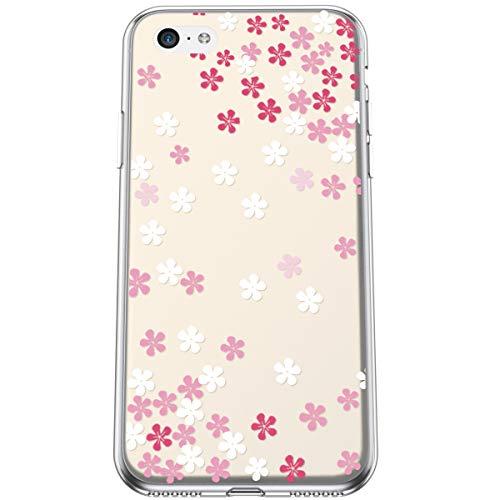 Felfy Compatible con iPhone 5C Funda Transparente con Diseños,Compatible con iPhone 5C...