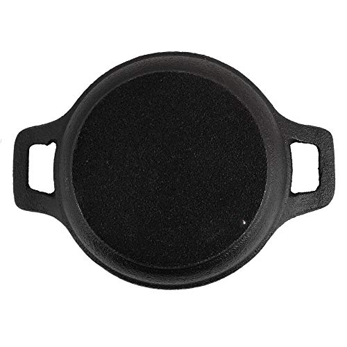 Quality Iron Material Two Handles Cast Frying Pan, Mini Iron Pan, Durable and Healthy for Kitchen for Cooking