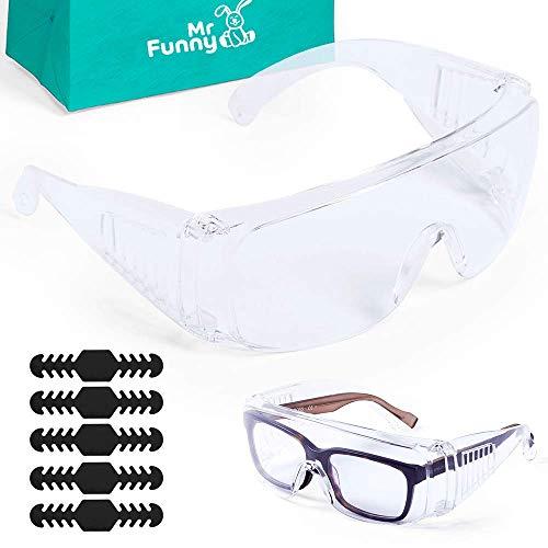 MEGAPACK - 2 Gafas Protección de Seguridad - Antivaho, Ultraprotección, Ligereza y Comodidad - Certificación Europea 2016/425